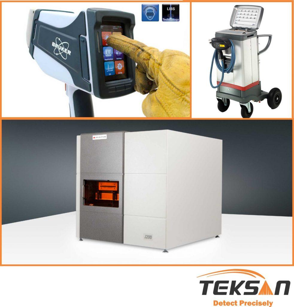 نمونههایی از دستگاههای LIBS